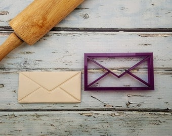 Envelope Cookie Cutter and Fondant Cutter