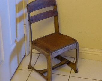 Vintage Student Chair - Childs Chair - Childs Student Chair - Vintage Chair