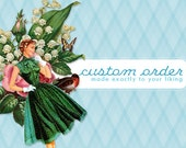 RESERVED Custom Thanksgiving Corsage for KP