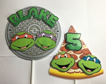 TMNT - Centerpieces for Birthday Party - Teenage Mutant Ninja Turtles