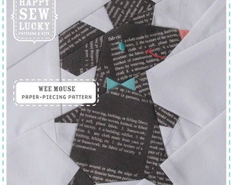 Wee Mouse Quilt Block pattern