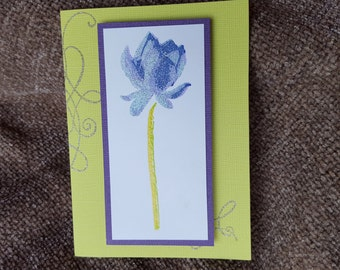 Happy Easter Lily Card