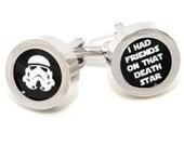 Star Wars Cufflinks - Stormtrooper Cufflinks - Fashion Accessories - With Gift Box
