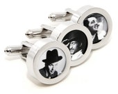The Rat Pack Cufflinks - Hollywood Fashion Accessories - With Gift Box