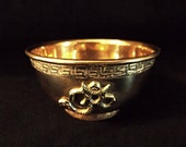 RESERVED - Resin Burner - copper bowl, incense burner, charcoal burner, offering bowl, om symbol, yoga gift, altar, ritual, home decor