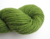 Super Bulky Weight Recycled Merino Wool Yarn, Grass Green