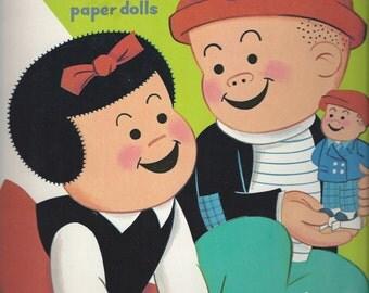 Nancy and Sluggo Vintage Paper Dolls, 1974