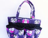 Disney Villains Bingo Bag // Craft Organizer // Makeup Organizer // Caddy // Teacher Tote // Nurse Tote