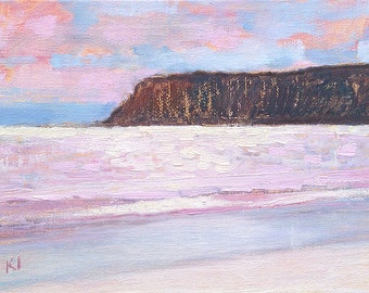 Coronado Sparkle Beach Painting Original Oil