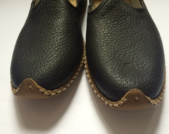 Turkish Yemeni handcrafted real leather boho shoes