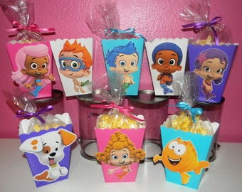 Bubble Guppies Snack Boxes - Set of 10