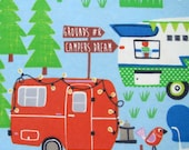 Campers - Flannel Fabric - BTY