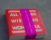 40% OFF Vintage 1975 All Things Wise and Wonderful Padadena Art Alliance Book