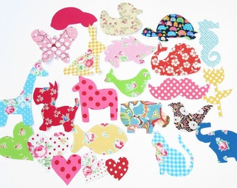 20 Iron On Appliques Baby Girl Appliques Baby Shower Activity