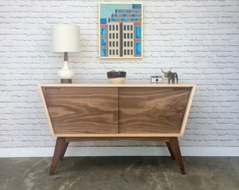 Revisionist Cabinet - Solid Walnut - In Stock!