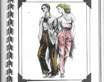 The Cutting Line 31371 One Seam Pants Hip Sizes 35-50 Uncut Pattern