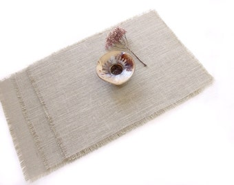 Modern Burlap Table Mats - Natural Home Accessories - Easy Dining & Entertainment