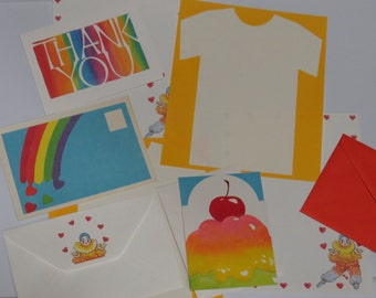1980's Vintage Stationery Collection - Oh So 80's