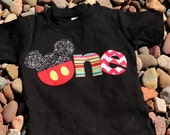 Mickey Mouse Inspired, 1st Birthday Shirt, 2nd Birthday, Disney Mickey Mouse, 1st 2nd Birthday, Birthday Shirt, Boys, Girls