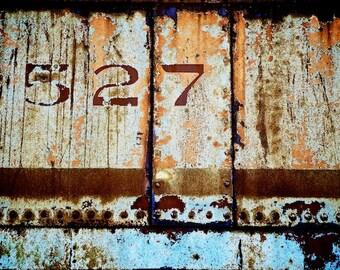 Industrial Artwork, 527, Rustic Train Decor, May 27, Gemini Gifts
