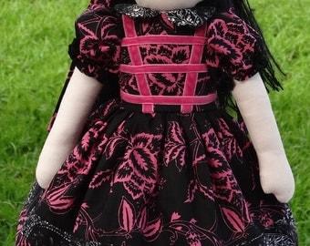 "Miss Wendy 16"" Rag Doll"