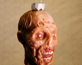 Walking Dead Zombie Head Christmas Ornament