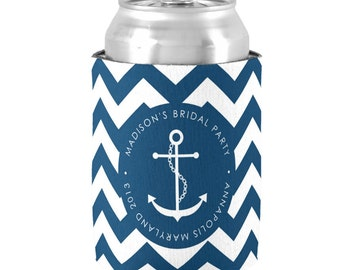 Personalized Can Cooler - Bachelorette Party Coolies - Party Favors - Family Reunion, Birthday Party Favors