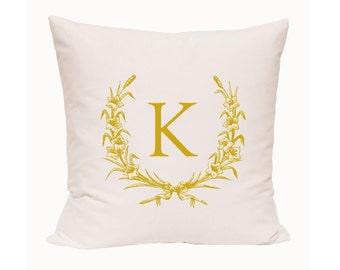 Decorative Pillow Accent pillow Throw pillow Pillow cover Initial pillow Personalize pillow Word pillow Customized pillow Pillow case
