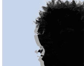 Bob Dylan Poster. Dylan 1966  Large A2 ( 40 x 60 cm ) Print