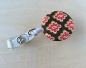 Retractable Badge Reel Holder - Mediterranean