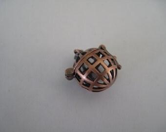 Copper Ball Locket