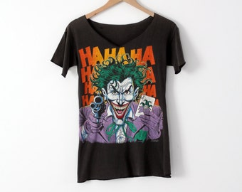 vintage the Joker t-shirt, 1980s Batman tee