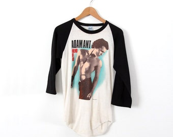 original 1980s Adam Ant t-shirt, vintage rock tee