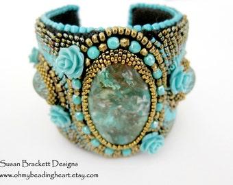 Beautiful in Blue Cuff SALE