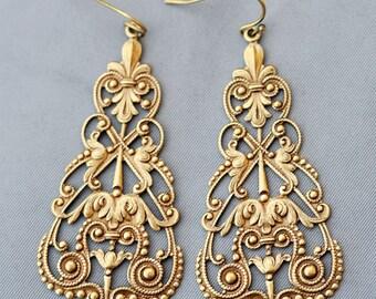 Earrings,Brass Earrings, Gypsy Girl,Hamsa,Boho Hoop Earringjewelry gift,Vintage Style Earrings, Earrings,Wedding Earrings