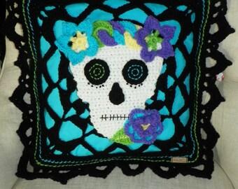 Dia De Los Muertos Pillow Cover
