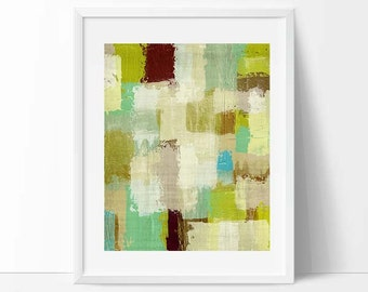 Abstract art, abstract painting, color block, bright colors, geometric print, modern painting, mid century art, abstract art, modern art