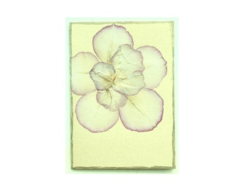 Rose petal Collage Card - Blank 5x7 (RP57-002)