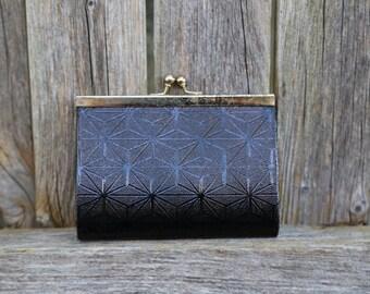 Vintage Black  Ladies Wallet