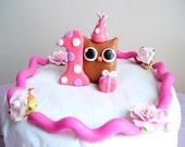 Custom Birthday Cake Topper for Angela