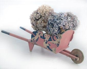 Art deco french children wheelbarrow