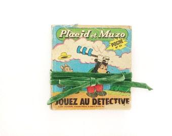 French Vintage Comic Book, Children Comics, Placid & Muzo