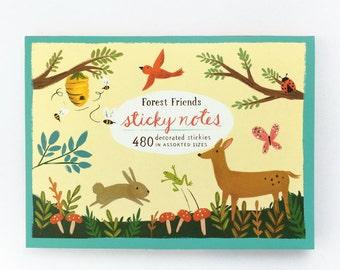 Forest Friends Sticky Notes