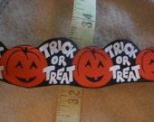 10 yards Vintage Halloween Ribbon
