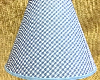 Gingham You Chose Blue Green Pink Purple Red Lamp Shade