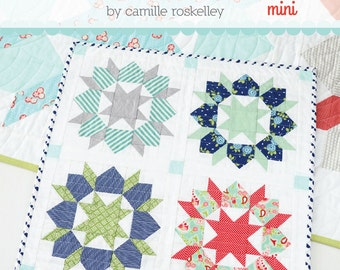 Mini Swoon Quilt Pattern by Thimble Blossoms