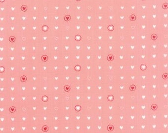 Lil Red Lil Sweet Hearts in Pink by Stacy Iset Hsu for Moda