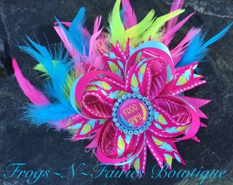 Free Spirit Feathers Boutique Hairbow