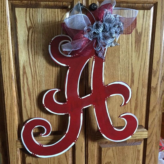 Items similar to large alabama roll tide a wooden door