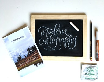 Modern Calligraphy Chalk Board Quick Start Kit